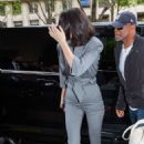 Kendall Jenner – Arrives at her hotel in Paris