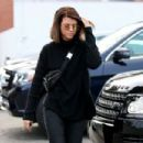 Sofia Richie – Goes brunette in Beverly Hills - 454 x 303