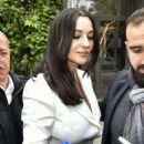 Monica Bellucci – Arriving at Vivement Dimanche TV show in Paris - 454 x 642