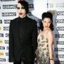 Dita Von Teese and Marilyn Manson