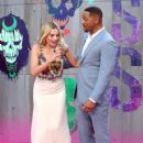 Margot Robbie and Will Smith - August 3, 2016- 'Suicide Squad' - European Premiere - Red Carpet Arrivals - 421 x 600