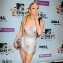 Shakira At The MTV Europe Music Awards 2009 - 391 x 594