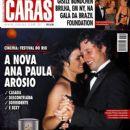 Henrique Pinheiro, Ana Paula Arósio - Caras Magazine Cover [Brazil] (1 October 2010)