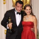 Natalie Portman - 2012 84th Annual Academy Awards - Press Room