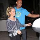 Kendra Wilkinson & Hank Baskett: Out for a Date