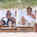Jennifer Lopez – Bikini candids on the beach in Turk and Caicos