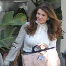 Lisa Vanderpump is spotted having lunch at Villa Blanca in Beverly Hills, California on April 1, 2016 - 454 x 595