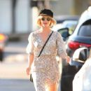 Julianne Hough in Summer Dress – Out and about in Los Angeles - 454 x 725