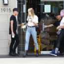 Miley Cyrus in Jeans – Out in Los Angeles