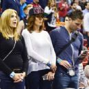 Juan Pablo Galavis attends a Miami Heat basketball game with friends on December 17, 2014 in Miami, Florida - 454 x 348