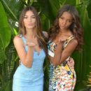 Lily Aldridge Jasmine Tookes Victorias Secret Supermodels Celebrate The Victorias Secret Swim Special In La