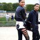 Chanel Iman and Chris Smith - 454 x 681