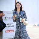 Jenna Dewan in Floral Dress – Out in Los Angeles
