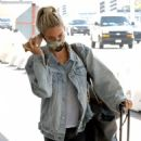 Kristin Cavallari – On phone call as she jets out of Los Angeles - 454 x 629