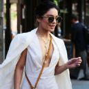 Vanessa Hudgens Outside Her Apartment In Ny