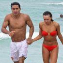 Mario Lopez and Karina Smirnoff