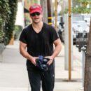 Matt Damon Leaves the Gym