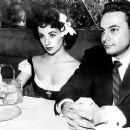 Elizabeth Taylor and Stanley Donen