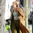 Blake Lively Filming Adaline In Vancouver