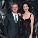 Michael Fassbender and Katherine Waterston