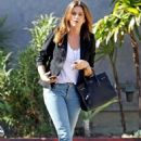 Cindy Crawford in Jeans out in Malibu