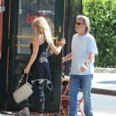Goldie Hawn and Kurt Russell spotted at Lil Dom's in Silver Lake Saturday October 15, 2016 - 454 x 522
