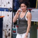 "Michelle Rodriguez Films ""The Fast and the Furious 6"" in London"