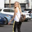 Nastia Liukin – Arrives at 'DWTS' dance studio in Los Angeles - 454 x 681