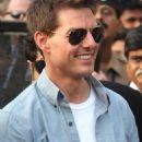 Tom Cruise at Mumbai City Airport