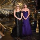 Kate Winslet and Reese Witherspoon at The 88th Annual Academy Awards - The Show (2016) - 454 x 302