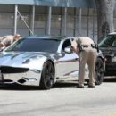 Bieber got pulled over not once, but TWICE(!!) by CHP officers for speeding in Los Angeles, California on July 6, 2012