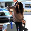 Jenna Dewan departs LAX Airport - October 2, 2009