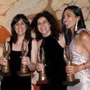 Shamim Sarif, Hanan Kattan and Natalie Becker on SAFTA AWARD 2009 - 429 x 401