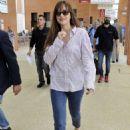 Dakota Johnson – Leaving Venice