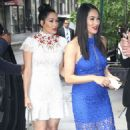 Nikki And Brie Bella Arrives – Seen at The Chew In New York - 454 x 536