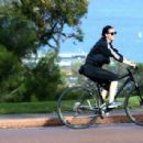 Katy Perry Bike Riding In Perth
