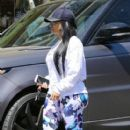 Black Chyna does some shopping in Downtown Los Angeles on April 19, 2016
