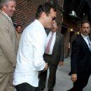 "Joaquin Phoenix Returns To The ""Late Show"""