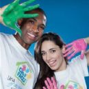 Al Horford and Amelia Vega