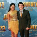 Vanessa Hudgens at the world premiere of Journey 2 The Mysterious Island at Village Cinemas Jam Factory on January 15, 2012 in Melbourne, Australia