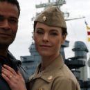 Johanna Watts as Lt. Caroline Bradley in American Warships - 454 x 597