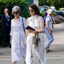 Claire Foy – Wimbledon Tennis Championships 2019 in London - 454 x 612