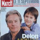 Alain Delon - Paris Match Magazine Cover [France] (January 2002)