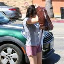 Ariel Winter in Shorts – Outside Papyrus in Studio City