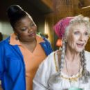 "MO'NIQUE as Cherry and CLORIS LEACHMAN as Great Gam Gam in Warner Bros. Pictures' and Legendary Pictures' comedy ""Beerfest."" Photo by Richard Foreman, Jr., SMPSP - 454 x 301"