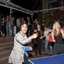 Kaley Cuoco - Plays Ping-pong At The Pre-Oscar Ping Pong Party Hosted By Susan Sarandon And Spin New York At Mondrian Hotel - March 4, 2010