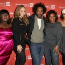 (L-R) Actress Gabourey 'Gabby' Sidibe, singer/actress Mariah Carey, director Lee Daniels, and actresses Mo'Nique and Paula Patton attend the screening of