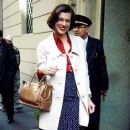 Milla Jovovich Arrives At Her Hotel In Milan