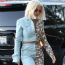 Rita Ora – Arrives at The Abbey Club in West Hollywood
