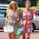 Newly-single Paris Hilton recovers from her relationship woes, by taking sister Nicky house-hunting in Malibu